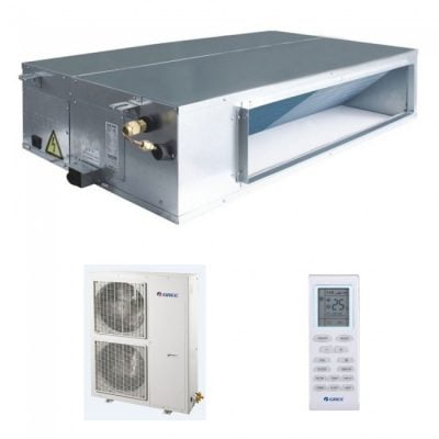 aer conditionat tip duct gree inverter 410a