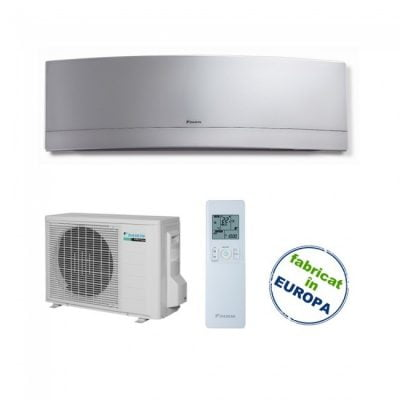 Aer conditionat Daikin Emura Bluevolution 7000 btu Silver FTXJ20MS-RXJ20M