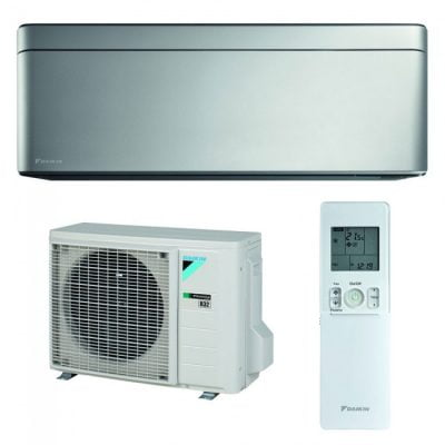 Daikin Stylish Bluevolution 12000 btu FTXA35AS-RXA35A Inverter Silver