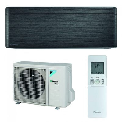 Daikin Stylish Bluevolution 9000 btu FTXA25AT-RXA25A Inverter Blackwood