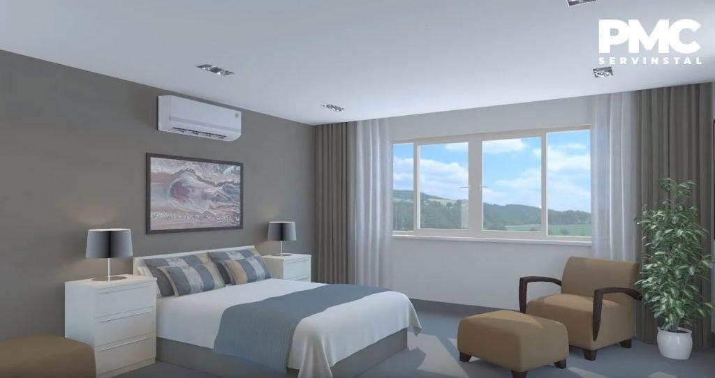 montaj-aer-conditionat-dormitor