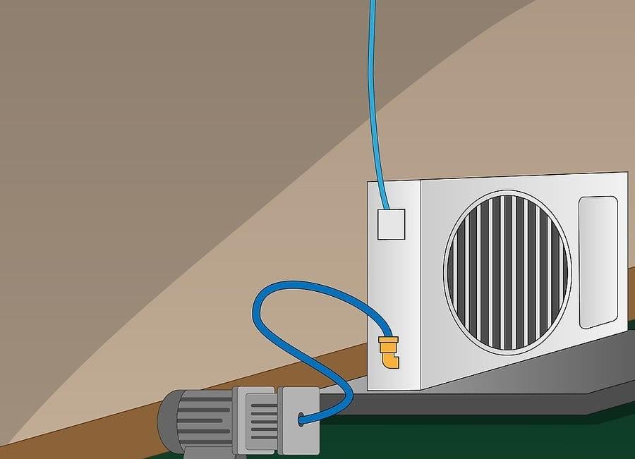 Vacumare instalatie frigorifica