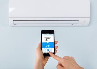 app pentru a controla temperatura cu aer conditionat