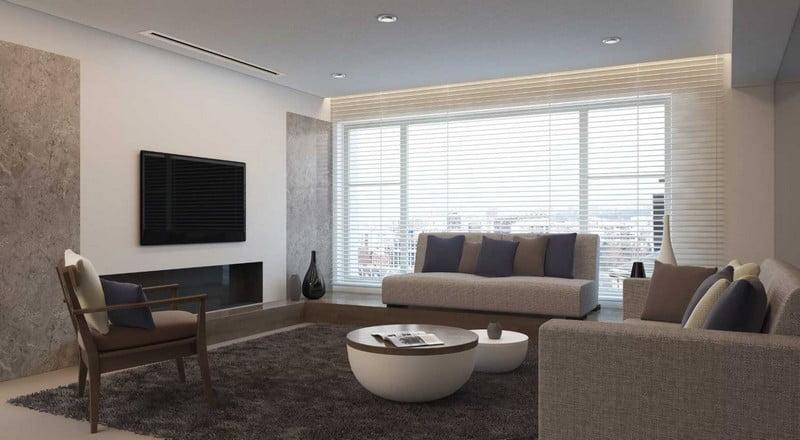 Montaj aer conditionat pentru living - sufragerie