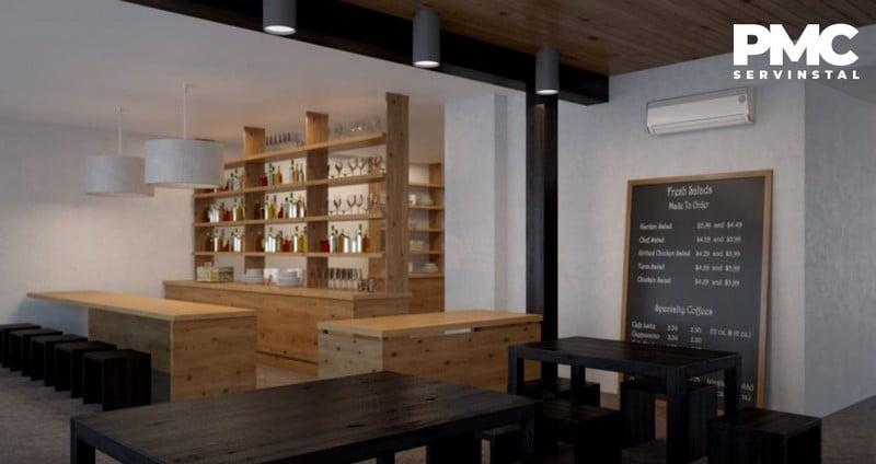Montaj aer conditionat restaurant