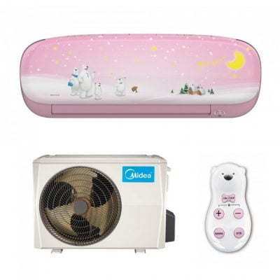 Midea Kids Pink MS11P-12HRFN1-P Full DC Inverter 12000 R410A