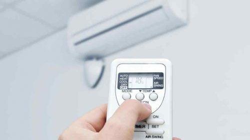 telecomanda de aer condiționat
