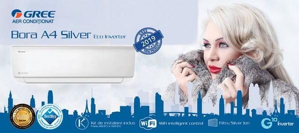 GREE Bora Eco Inverter A4 silver